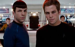 Kirk and Spock- Reboot