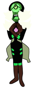 Nephrite in Legs From Here to Homeworld