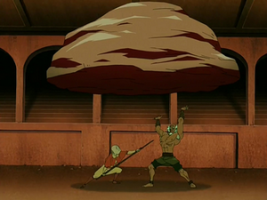 Aang vs Bumi