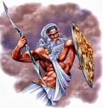 Deities and Demigods Zeus