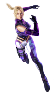 Nina Williams - Full-body CG Art Image - Tekken 6