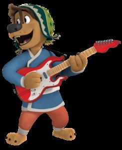 Bodi 4 rock dog