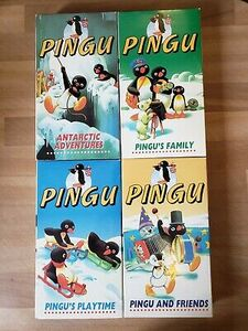Pingu Video Tapes