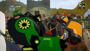 Grimlock and Drift (Enemy of My Enemy)