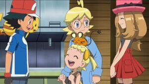 Ash and Kalos friends