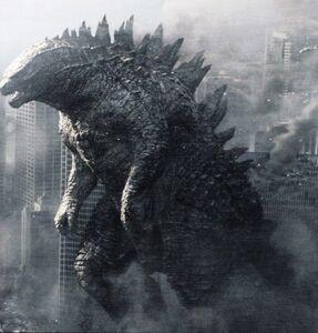 Godzilla 2014 savior of our city by sonichedgehog2-d7teur6