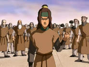 Haru fights back