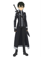 Kirito Millennium Twilight character design