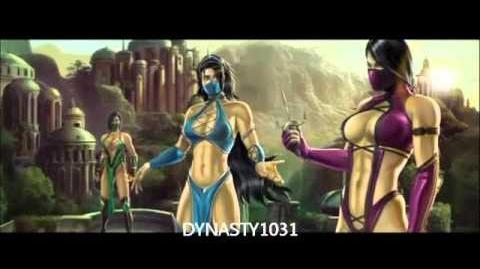 Mortal Kombat 9 (2011) Kitana ENDING!