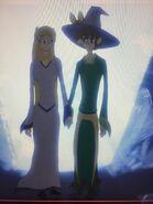 Princess Kyra Eric the Spellbinder & Bat-Frog