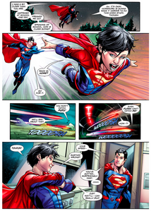 Superboy-beats-superman-in-a-race-rebirth-3