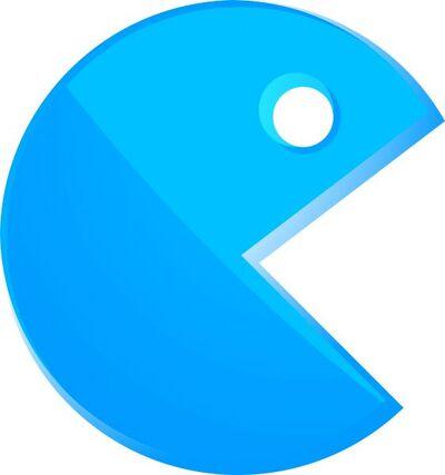 Blue Pac-Man