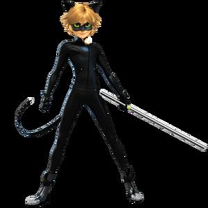 Cat Noir Render