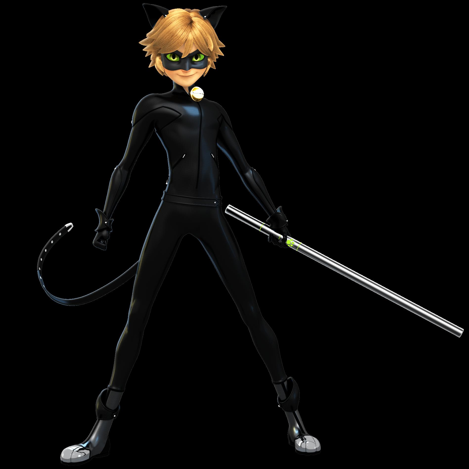 Resultado de imagen de cat noir