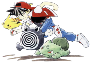 Red (Pokémon Adventures) | Heroes Wiki | FANDOM powered by Wikia