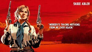 Sadie Adler - Red Dead Redemption 2