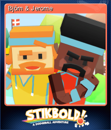 Stikbold! A Dodgeball Adventure Card 7