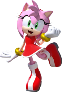 Team Sonic Racing Amy no car