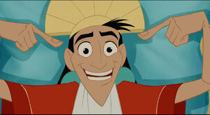 Kuzco's charming smile