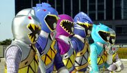 Kyoryuger 100 years after