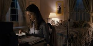 S1E1-Nancy studying in room