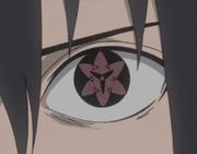 Sasuke EMS Anime Closeup