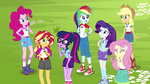 The Equestria Girls gathered EG4