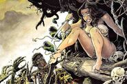 Cavewoman 20Art 20Print 20Zombie 20Attack