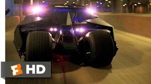 Batman Begins (4 6) Movie CLIP - Tumbler Chase (2005) HD
