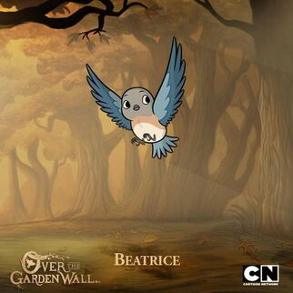 Beatrice Over the Garden Wall