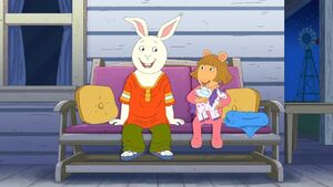Buster and D.W. in The Rhythm and Roots of Arthur 2
