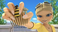 Chloé with the Bee Miraculous