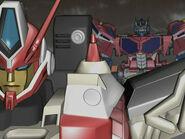 Optimus speaking to Override