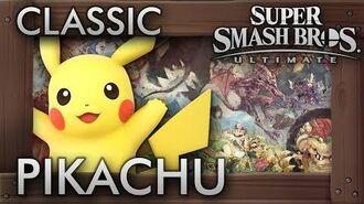 Super Smash Bros. Ultimate- Classic Mode - PIKACHU - 9.9 Intensity No Continues