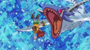 Tylomon tried to get Koshiro