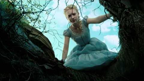 Alice In Wonderland - Clip- Alice Falls Into a Rabbit Hole (2010) - HD