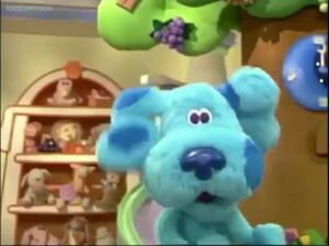 Blue's clues blue's room blue 432435