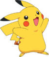Pikachu Render