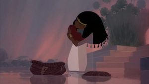 Tuya Kissing Baby Moses