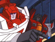 G1toon starscream and redalert
