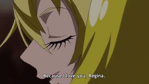 Maya tells to love Regina
