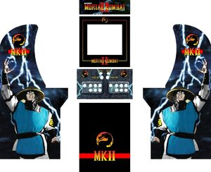 Mortal kombat 2 arcade machine pieces