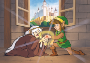 TAoL Link and Impa Artwork