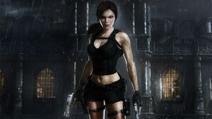 TRU Lara Infront of Mansion