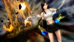 Dissidia tifa by split second