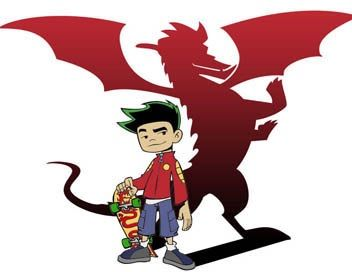 image jake s human and dragon forms jpg heroes wiki fandom