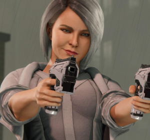 Silver Sable from MSM screen