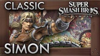 Super Smash Bros. Ultimate Classic Mode - SIMON - 9.9 Intensity No Continues