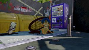 Cuttlefish in manhole
