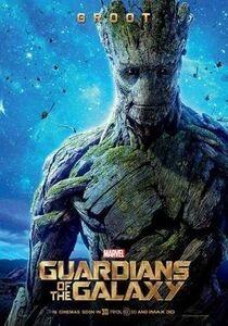 Guardians of the Galaxy Groot movie poster